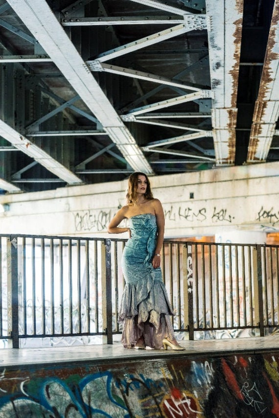 vintage mermaid dress