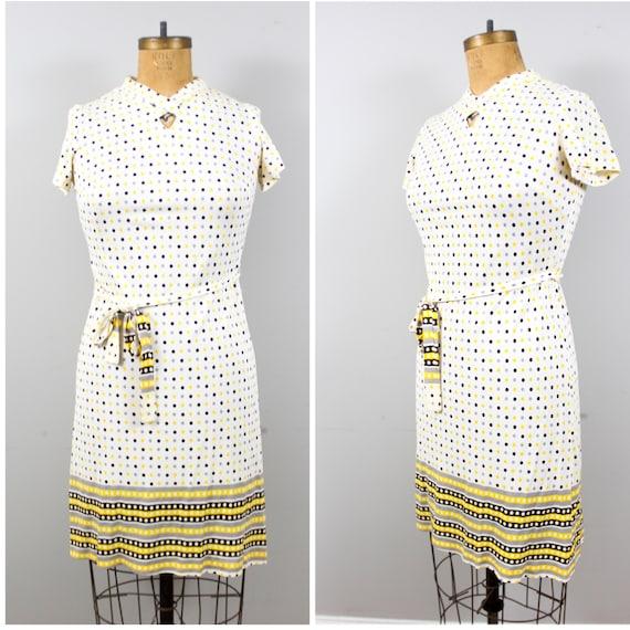 polka dot sixties dress