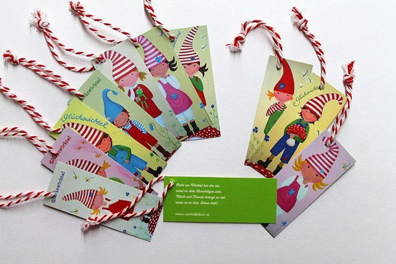 10 Lucky elf Gift Pendant image 0