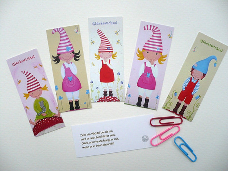 10 Mini Lucky Elf Cards image 0
