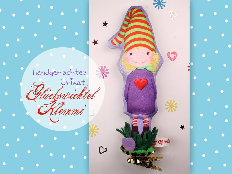 Lucky swickle Klummi VIOLETTA  nursery decoration  lucky image 0