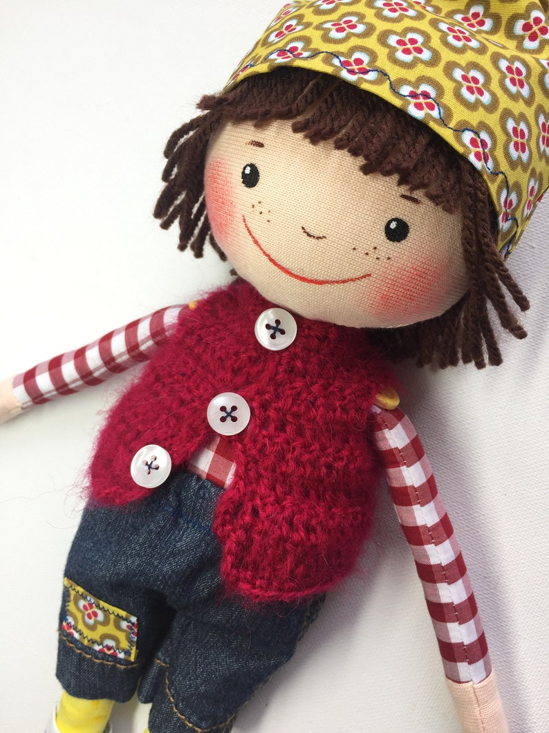 Personalized Wichtel doll  SPECIAL PRODUCTION  Lucky Imp  image 0