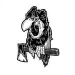 Buzz Off Vulture Vinyl Sticker (FREE SHIPPING!)