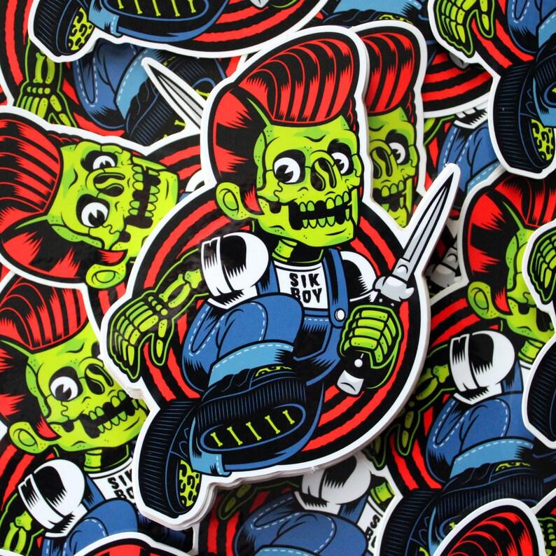 Sik Boy Vinyl Sticker FREE SHIPPING image 0