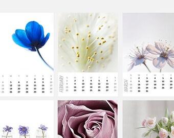 Custom desk calendar 2018 Mini 5x7 calendar Mini wall calendar Unisex gift Gift for him Loose leaf calendar Gift for her Personalized gift
