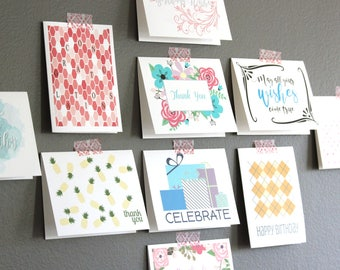 Boxed greeting cards etsy greeting card assorted set bulk birthday cards note card assortment blank greeting card m4hsunfo