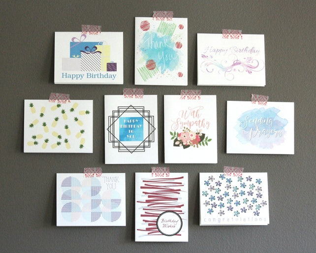 Assorted Greeting Card Boxed Set