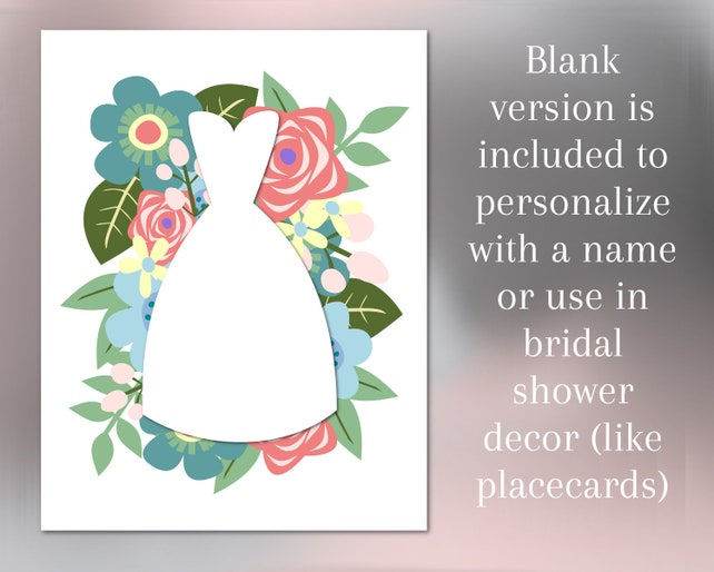 photo relating to Printable Bridal Shower Cards known as Printable Bridal Shower Card Foreseeable future Mrs Card Floral