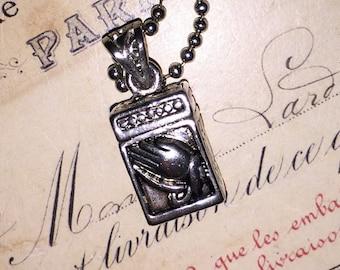 Vintage Praying Hands Pendant Necklace