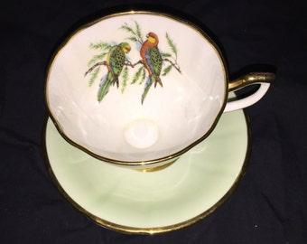 Vintage Taylor and Kent Bone China Tea Cup