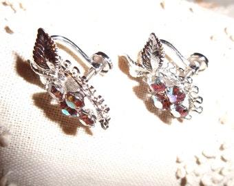 Vintage Star Art Sterling Earrings