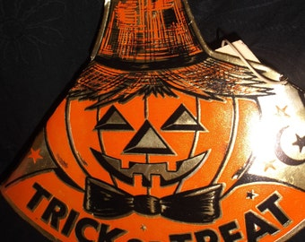 Vintage Trick or Treat Party Hat
