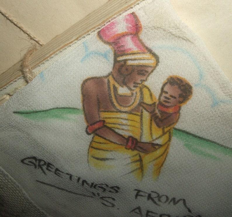 Vintage Handkerchief From S Africa