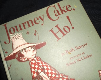 1953 Journey Cake Ho Child's Book