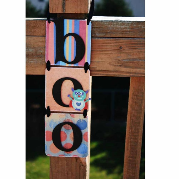Clearance Sale 50 Off Halloween Decoration Boo Hanging