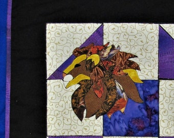 Lion in the Corner - Quilt Block Menagerie Pattern