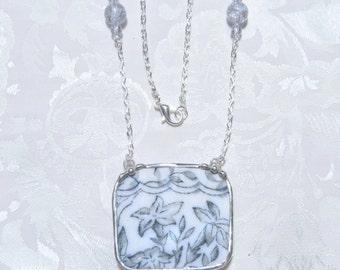 Broken China Jewelry Vintage China