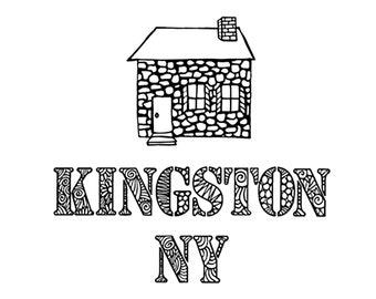 Kingston NY Stone House Notecards
