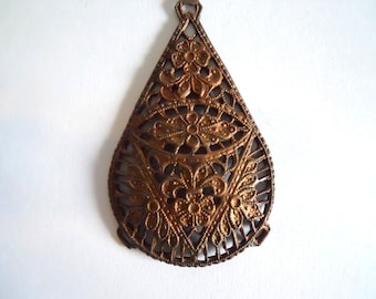 Antique Brass Stamping
