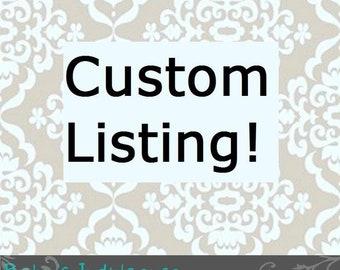 Custom Order Nancy
