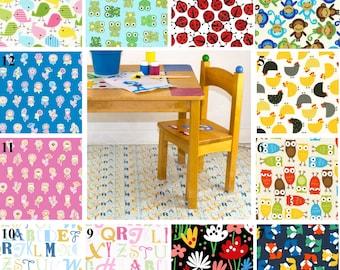 Laminated Splat Mat/Craft Tablecloth -  BPA & PVC Free - Laminated Cotton by Baby's Indulgence