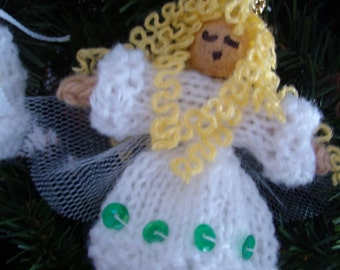 Instant Download - Angels for Christmas - PDF (knit)