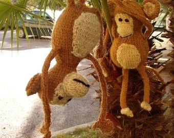 Max, the Little Monkey - Pattern (PDF) knit English version