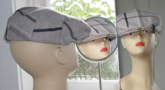 Flache Mütze Hut Efeu Mütze mittlerer Größe Nähen Hut Muster | Etsy