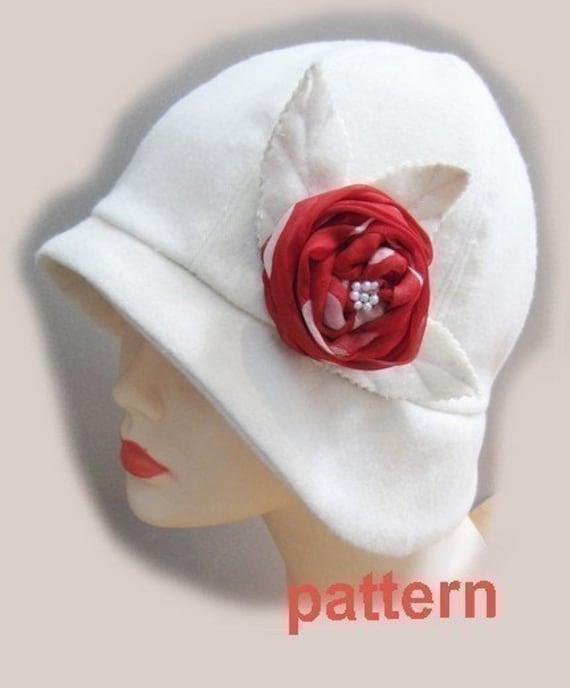 Cloche Hut Muster Mittel Roaring 20 s Flapper Cloche Nähen | Etsy