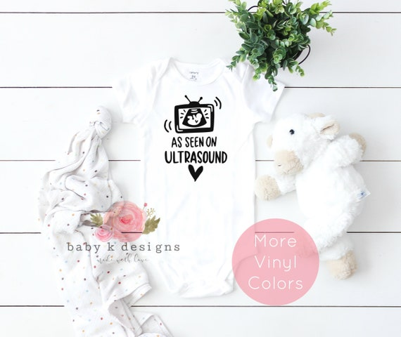 Ultra Sound Baby Onesie Shirt Shower Gift Funny Infant Newborn Clothes Gerber