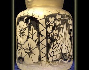 Hawaii Tropical Flower 2 Litre Juice Pitcher