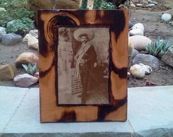 Emiliano Zapata - Wooden Plaque