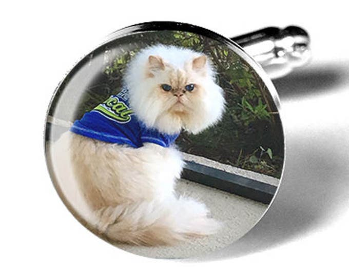 Pet Photo Custom Cufflinks, Personalized Memorial Keepsake Cuff Links, Wedding Gift for him, Remembrance Gift, Dog Cufflinks, Cat Cufflinks