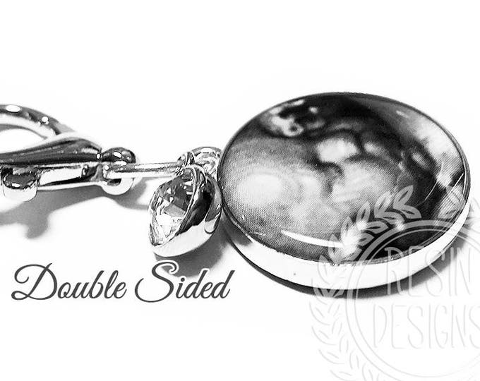 Ultrasound Sonogram Gift, New Baby - Baby Shower Gift, Memorial Charm, Personalized Charm, Custom Key Fob, Two Sided Charm