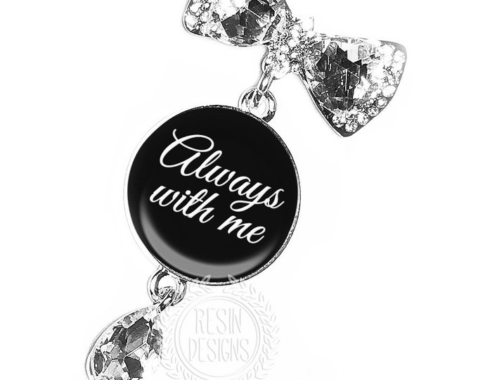 Wedding bouquet Custom Photo Charm, Personalized Memorial Bouquet Bridal Brooch, Bridal Bouquet Pin, Memory Charm