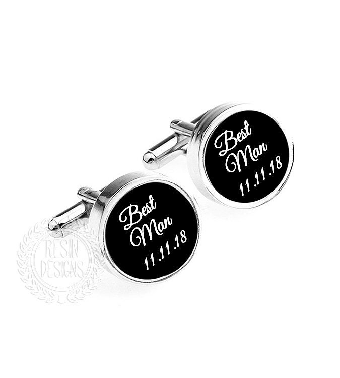 Groomsmen Gifts Wedding Party Cufflinks Personalized Wedding Gifts