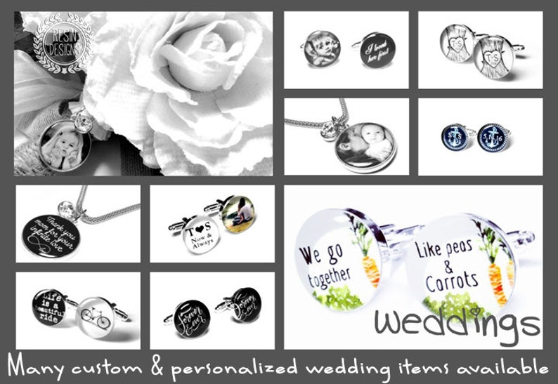 Something New Custom Picture Memory Brooch Wedding  Bouquet Crystal Bridal Photo Charm Personalized Memorial Charm Brides Bouquet Pin