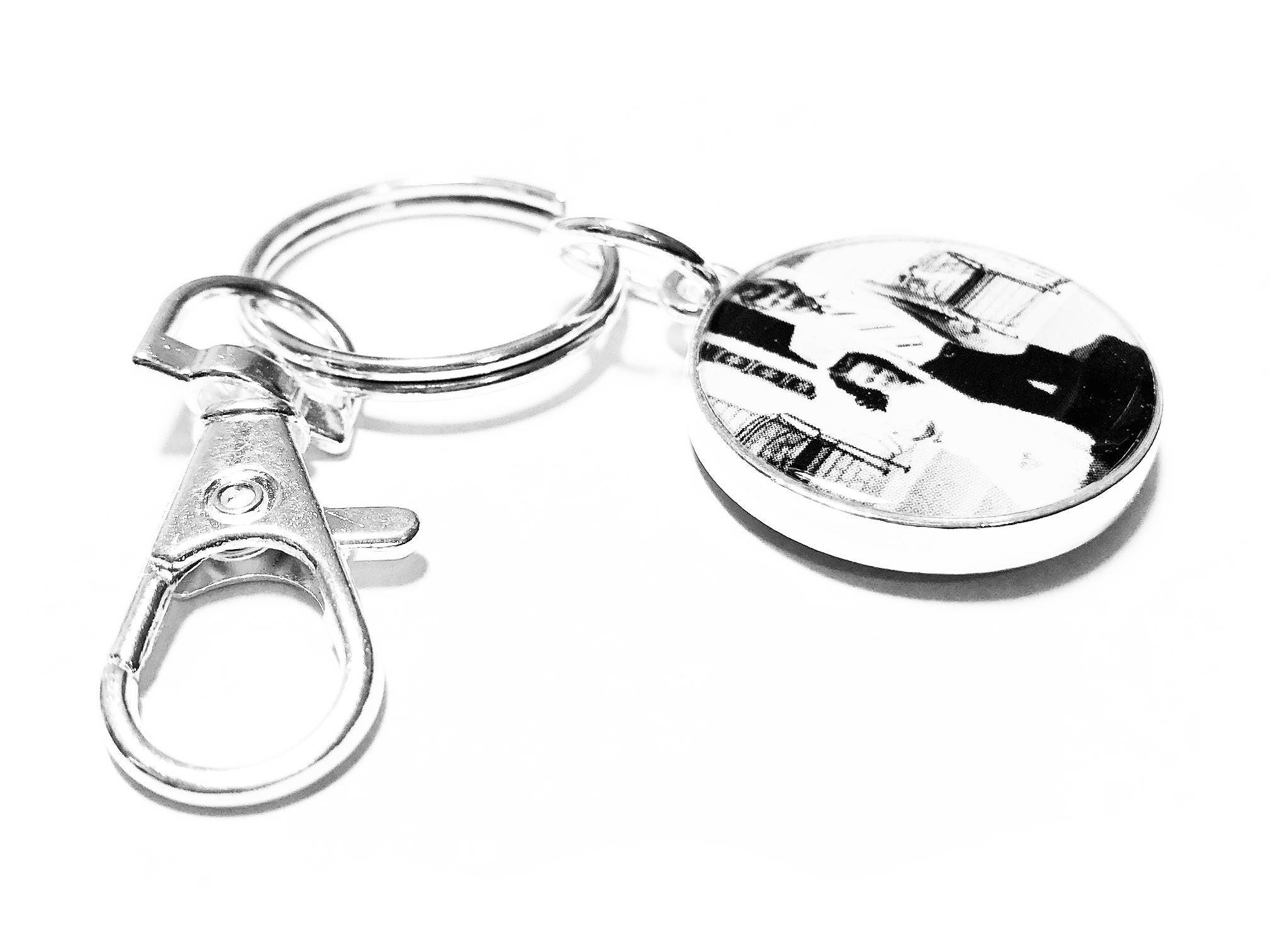 Personalized Key Ring, Custom Photo Gift, Custom Keychain