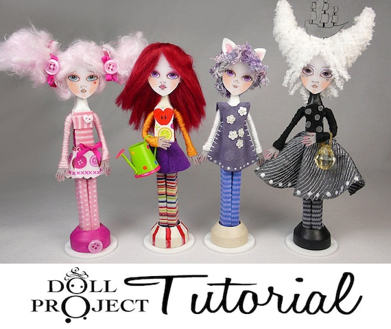 Clothes Pin Art Doll Tutorial Make Your Own Miniature