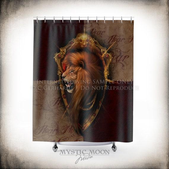 Roar Shower Curtain Nerd Gifts Decor Geeky