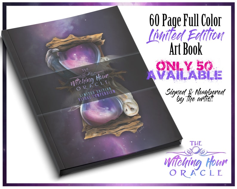 The Witching Hour Oracle / Only 50 Printed / Full Color Art image 0