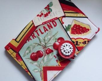 Cherries Tea Wallet