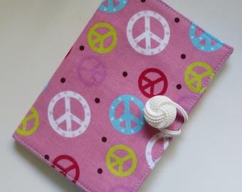 Peace Signs Tea Wallet
