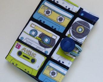 Cassette Tapes Tea Wallet