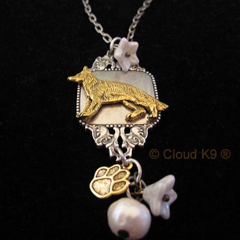 2ef095706cefc German Shepherd Jewelry Necklace. German Shepherd Gifts. Silver German  Shepard Charm Pendant. Gifts for Women Gift for Her. Alsatian Jewelry