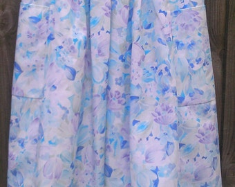 Vintage size 20  Pale Blue Skirt