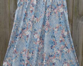 Size 14 Vintage Floral Skirt