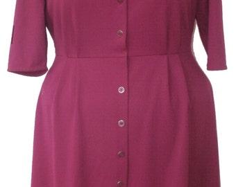 Vintage size 20 plus size dress with sequins