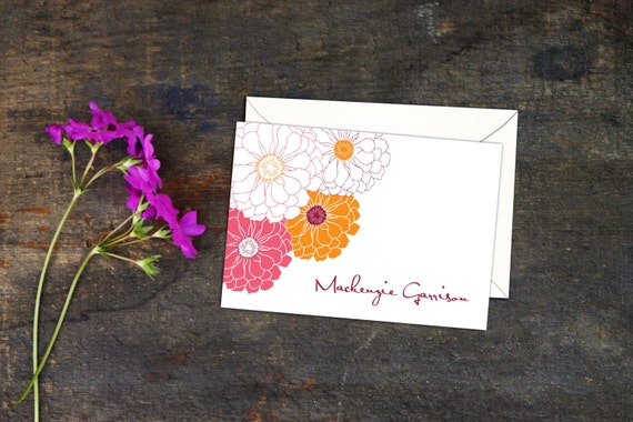 image 0 - Custom Folded Note Cards