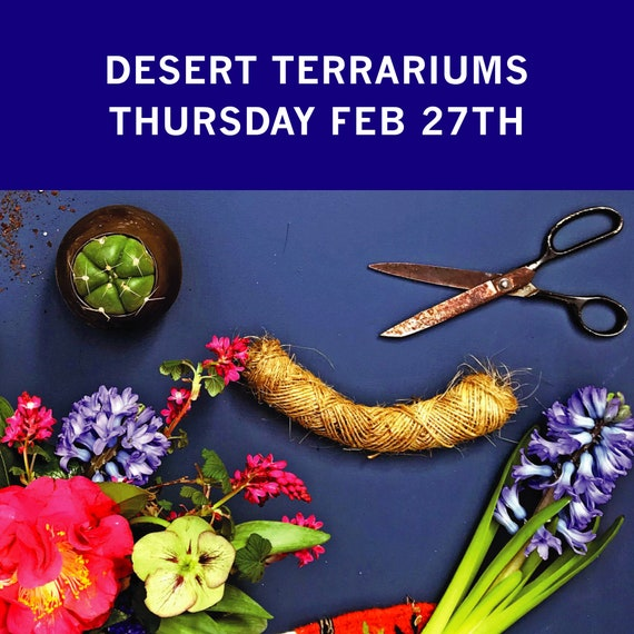 Workshop : Desert Terrariums